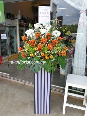 budget funeral floral stand 往生花圈