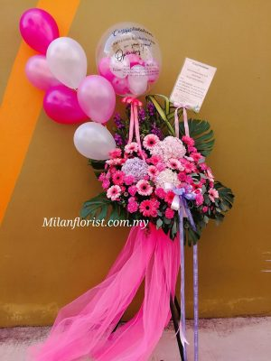 milan opening floral stand 开张花篮